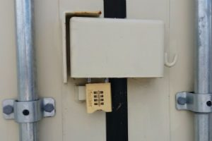 Secure your container with your own padlock