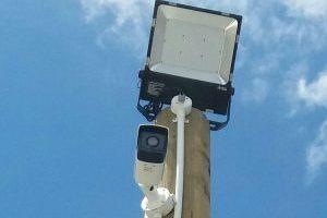 Cameras and lights